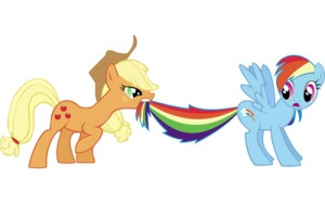 Applejack & Rainbow Dash