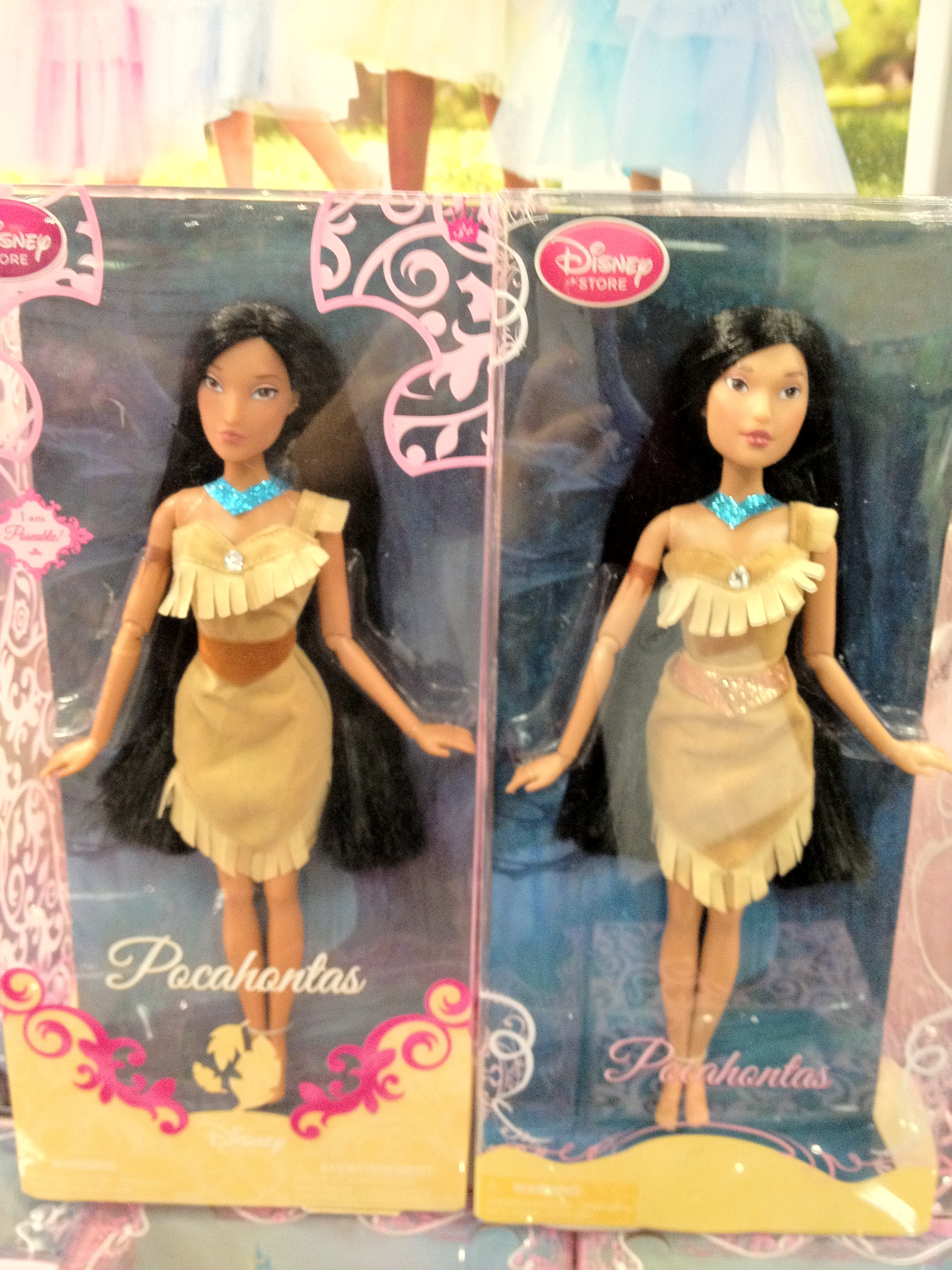 d20fe6b2c22 New at the Disney Store: Princess Dolls with Extra Sparkles! (and ...