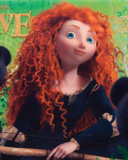 Screen shot of Merida from Disneystore.com