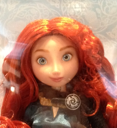 Disney Store Merida - detail