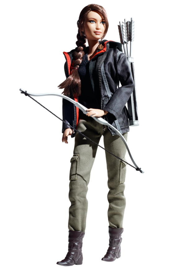Katniss Everdeen doll by Mattel. Source: Barbiecollector.com