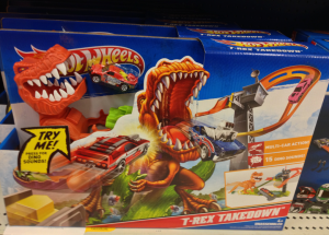 T-Rex Hot Wheels