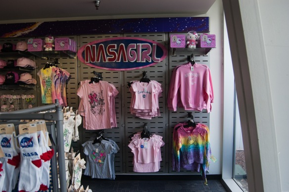 NASAGIRL section at the Kennedy Space Center Visitor's Complex. Photo by Kyle Barger - @kebarger