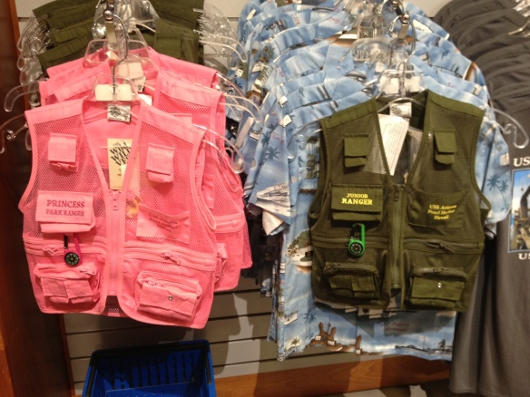 Princess vs Junior Ranger vests