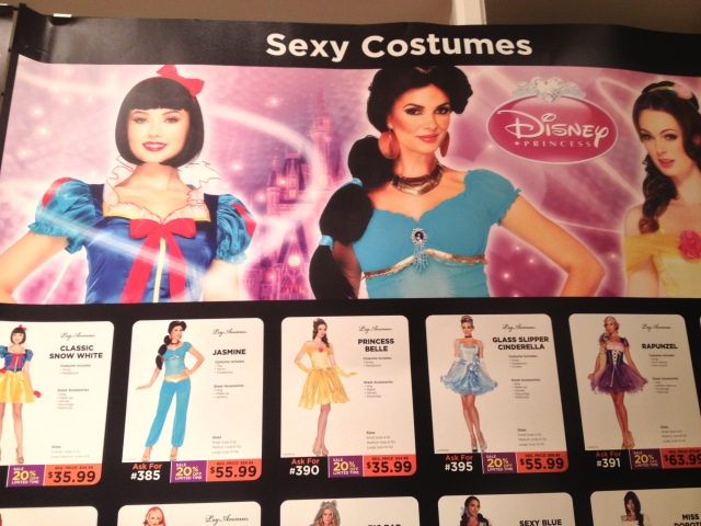 Sexy Disney Princess costumes