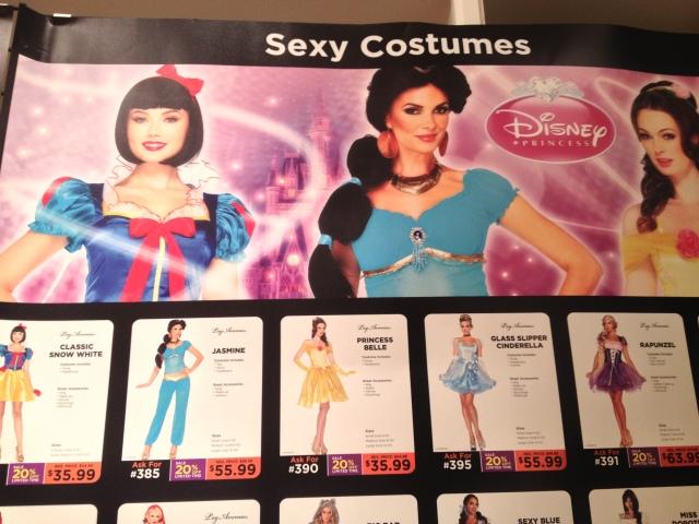 Sexy Disney Princess costumes