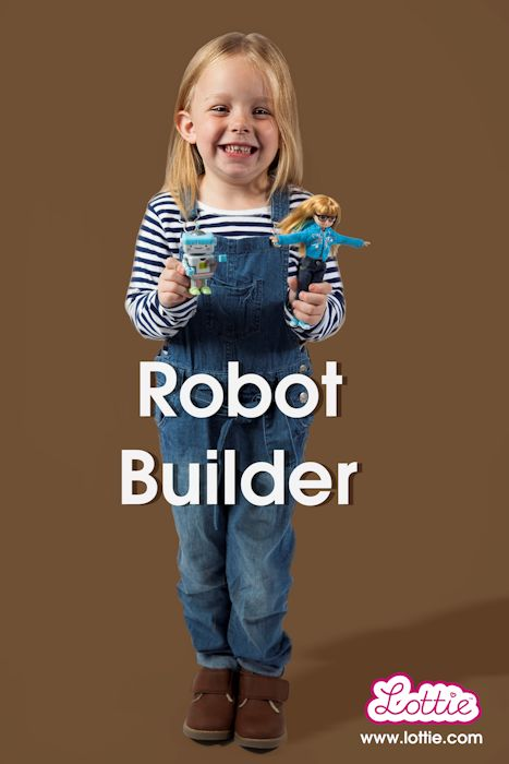 Robot Builder. By Lottie.