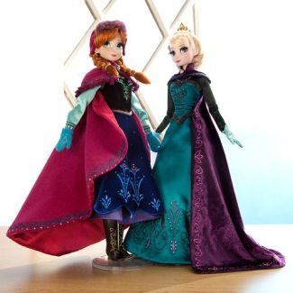 Limited Edition Anna and Elsa dolls