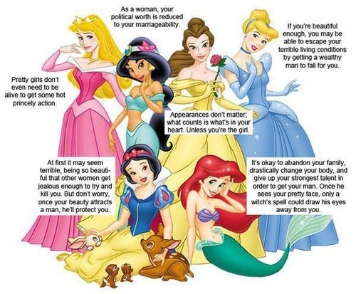 Disney Princess problems