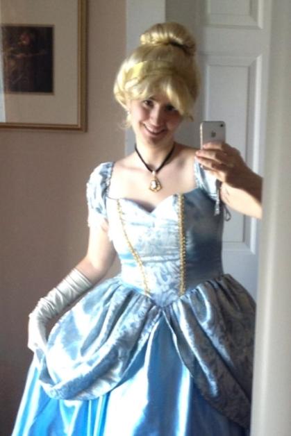 Rebecca Hains as Cinderella