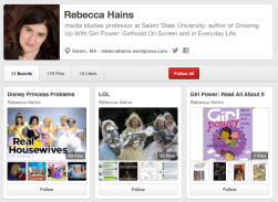 Rebecca Hains on Pinterest