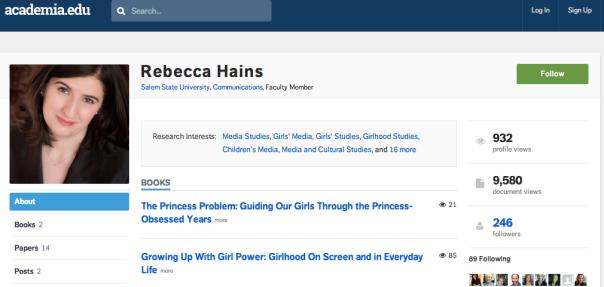 Rebecca Hains on Academia.edu