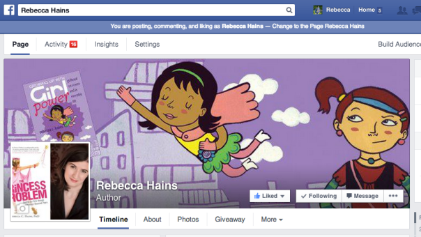 Rebecca Hains on Facebook