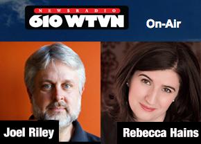 Joel Riley and Rebecca Hains - News Radio 610 WTVN