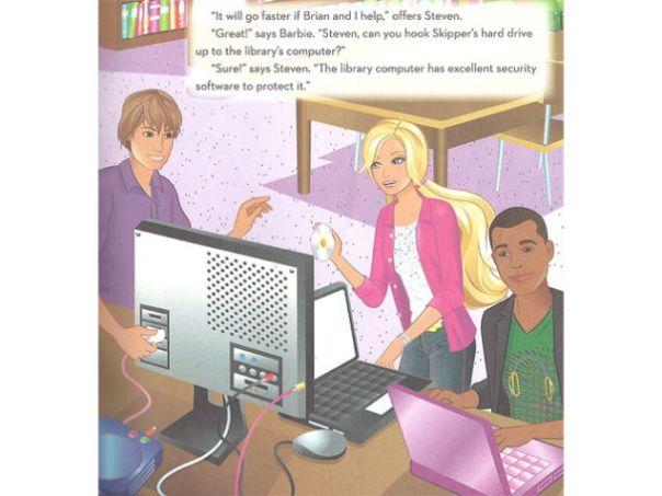 Computer Engineer Barbie via Gizmodo