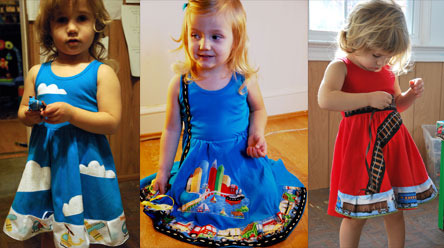 Princess Awesome dresses